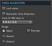 voice allocation